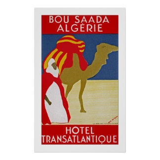 Bou Saada Algerie Poster