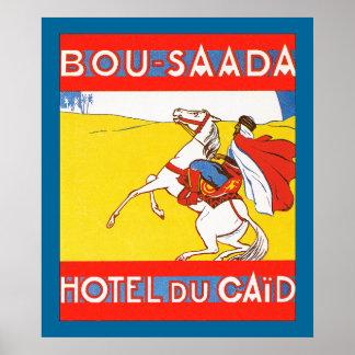 Bou-Saada Hotel Du Caid Poster