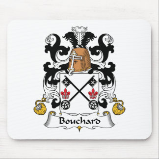 Bouchard Family Crest Mouse Pad