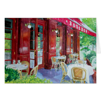 Bouchon Outside Dining , Bouchon Outsid... Card