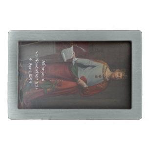 d57690059fa Boucle De Ceinture Rectangulaire Alfonso X