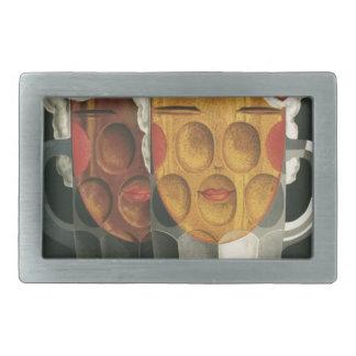 Boucles De Ceinture Rectangulaires affiche française originale 1929 d'art déco de