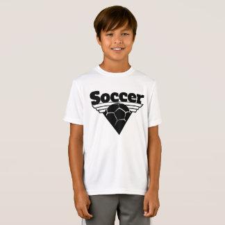 Bouclier de triangle du football T-Shirt