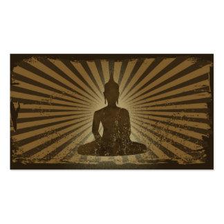 Bouddha vintage carte de visite standard