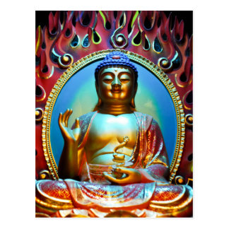 """""""Bouddha vous bénissent"""" carte postale"""