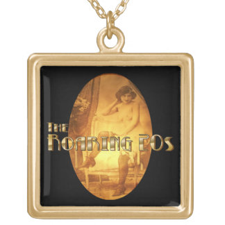 Boudoir Flapper Gold Plated Necklace