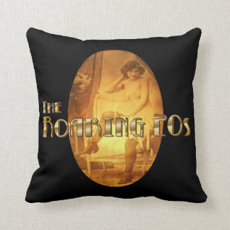 Boudoir Flapper Throw Pillow