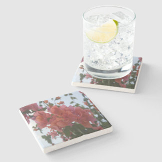 Bougainvillea At Daybreak Stone Coaster