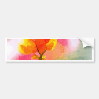 Bougainvillea Bumper Sticker