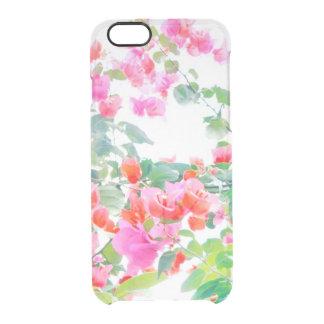 bougainvillea clear iPhone 6/6S case