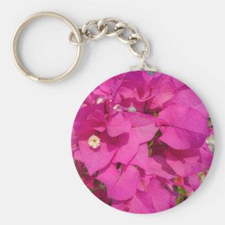 Bougainvillea Flower Key Chain