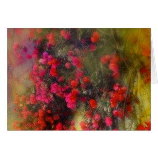Bougainvillea Impressionist Card