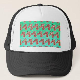 Bougainvillea Unicorn Trucker Hat
