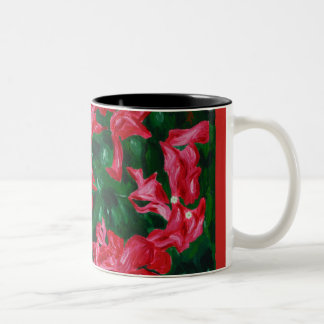 Bougainvilleas - an ode to nature, Mug