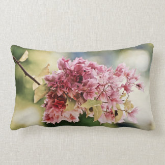 Bouganvillea - Tropical - Lumbar - Caribbean Lumbar Pillow