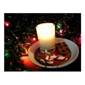 Bougie I de biscuit de Noël Carte Postale