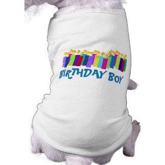 Bougies d'anniversaire tee-shirt pour animal domestique