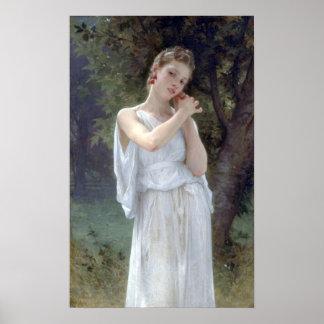 Bouguereau - Boucles D'Oreilles Poster
