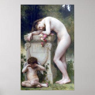 Bouguereau - Douleur d'Amour Poster