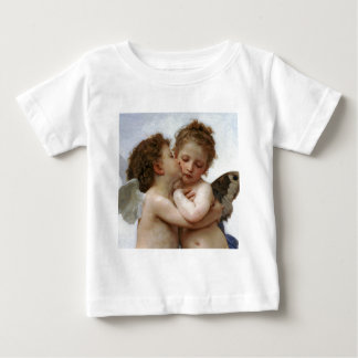 "Bouguereau, ""First kiss"" Baby T-Shirt"
