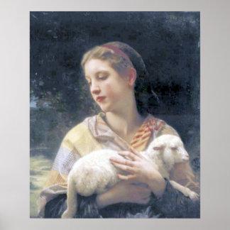 Bouguereau - Innocence Poster
