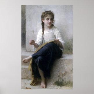 Bouguereau - La Couturiere Poster