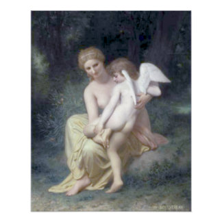 Bouguereau - L'Amour Blessé Poster