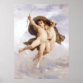 Bouguereau - L'Amour Vainqueur Poster