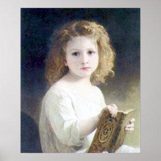 Bouguereau - Le Livre de Fables Poster