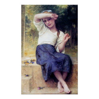 Bouguereau - Marguerite Poster