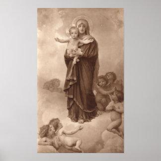 Bouguereau - Notre-Dame des Anges Poster
