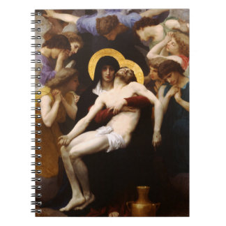 Bouguereau Pieta Notebook