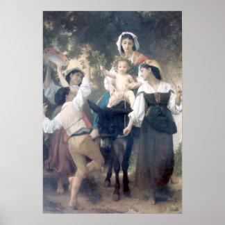 Bouguereau - Promenade a Ane Poster
