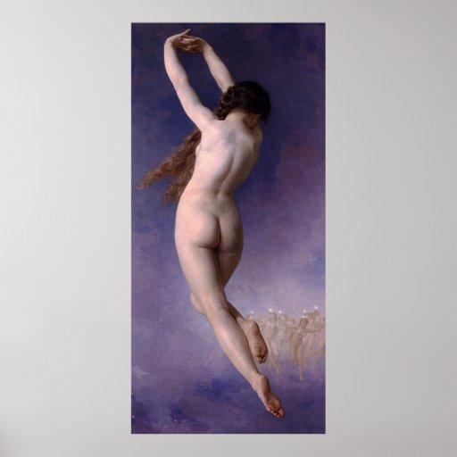 Bouguereau: The Lost Pleiad (L'Etoile Perdue) 1884 Poster