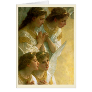 Bouguereau's Angels Christmas Card