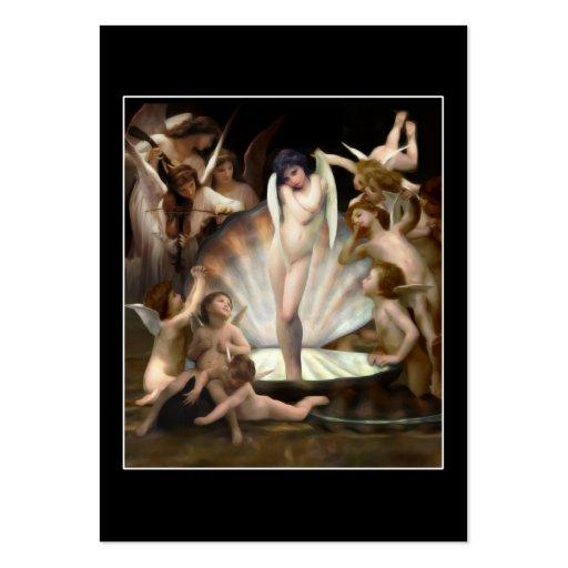 Bouguereau's Angels Surround Cupid Business Card Templates
