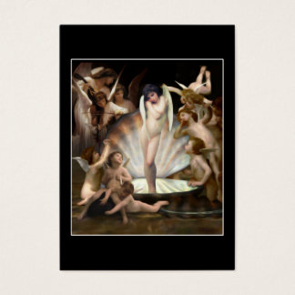 Bouguereau's Angels Surround Cupid Business Card