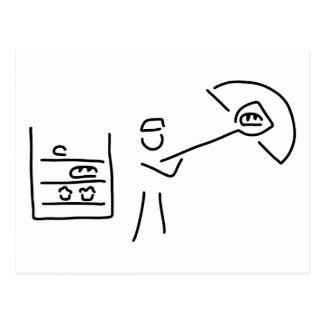 boulanger boulangerie artisanat cartes postales