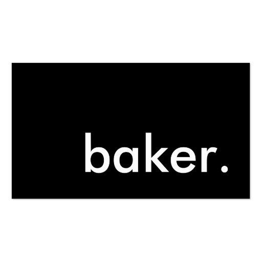 boulanger modèle de carte de visite