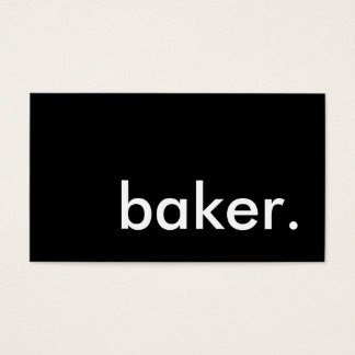 boulanger cartes de visite