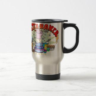 Boulanger principal mug de voyage en acier inoxydable