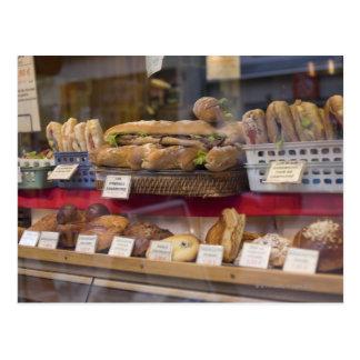 Boulangerie à Paris Carte Postale