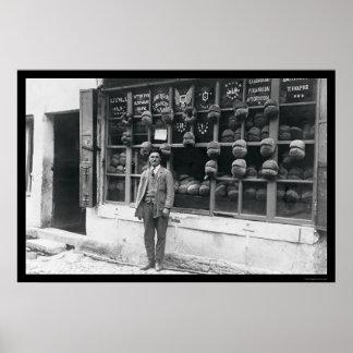 Boulangerie américaine à Istanbul, Turquie 1922 Poster