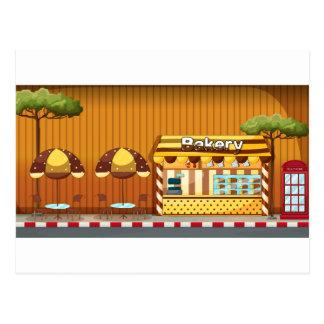 Boulangerie Carte Postale