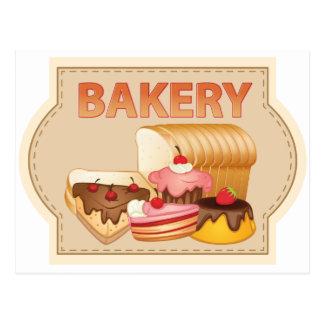Boulangerie Cartes Postales