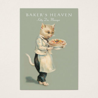 Boulangerie, chef de pâtisserie, Baker, Cartes De Visite
