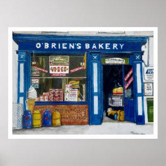 Boulangerie de Brien´s de ` d O Poster