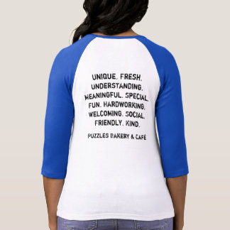 Boulangerie de puzzles et chemise de Café T-shirts