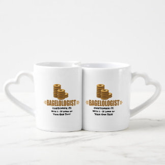 Boulangerie drôle set mugs duo
