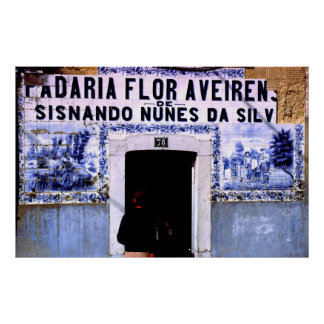 Boulangerie Lisbonne Portugal Posters